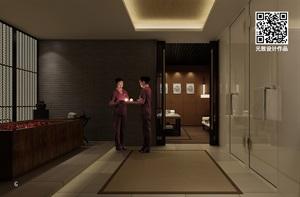 水疗spa会所装修设计大型美容院设计