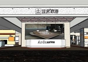 现代风格家居卖场室内设计SU(草图大师)模型