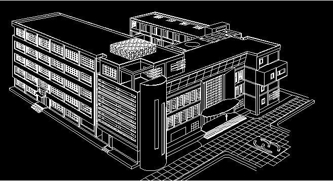 五层建筑系馆教室建筑设计CAD方案及SU模型,全套资料包含:总平面图、各层平面图、立面图、剖面图、CAD轴测图、sketchup模型。本设计的平面布局与学校其他建筑相呼应,同中求异,丰富的体块体现了建筑系学生的创新意识。教学办公及实验部分功能分区明确,两块用地之间用廊道连接,增加了建筑的联系性,同时交通流线也更加顺畅。每层的展示空间为学生和师生之间的交流提供了平台,高低的起伏使整个建筑更有动感.