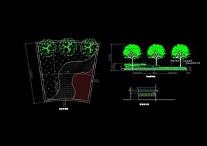 多套花池、花钵、花坛设计cad方案