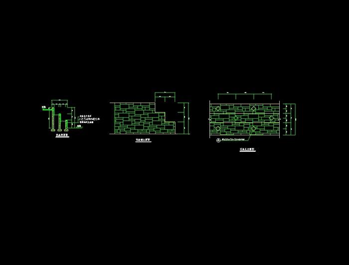 多套花池,花钵,花坛设计cad方案[原创]