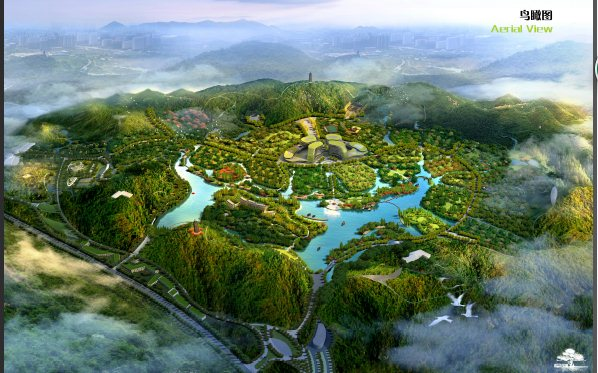 中式古典风情旅游小镇规划设计方案文本(1)