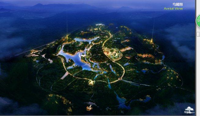 中式古典风情旅游小镇规划设计方案文本(2)