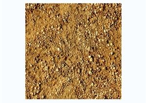多种石子与泥土路面贴图