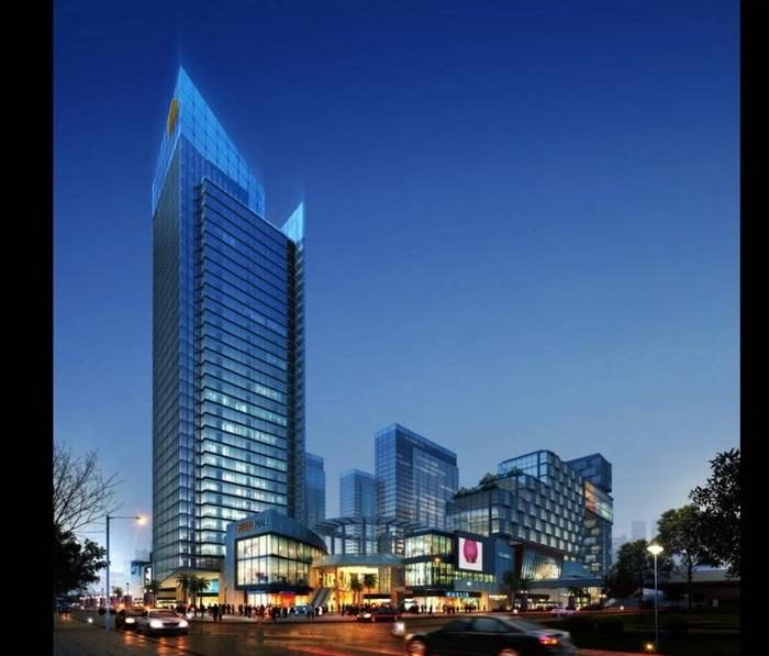 超现代建筑效果图