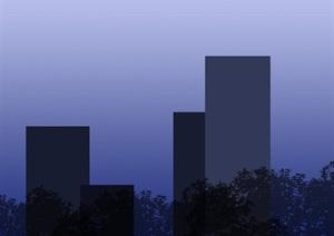 玻璃、建筑背景贴图