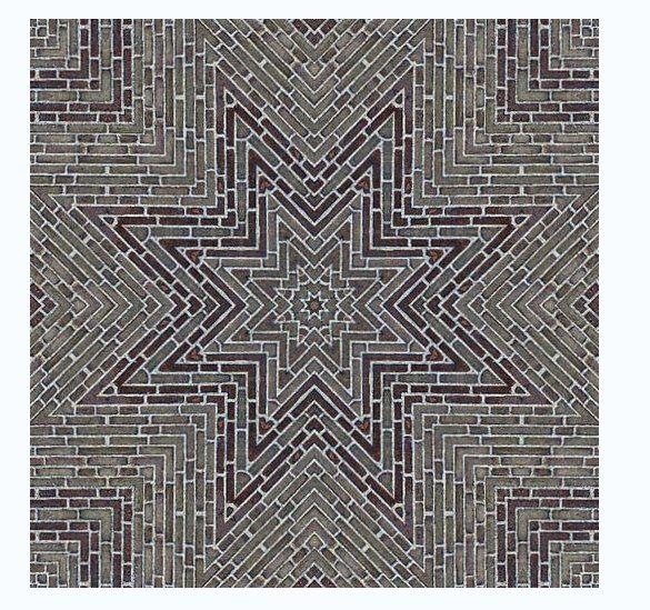 广场砖与拼花铺装贴图素材(3)
