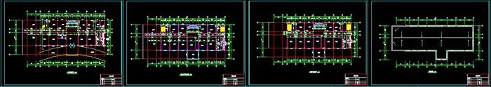 六层钢框架办公楼设计(含计算书建筑结构图)(4)