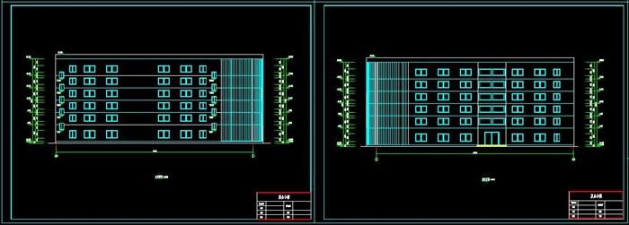 六层钢框架办公楼设计(含计算书建筑结构图)(5)