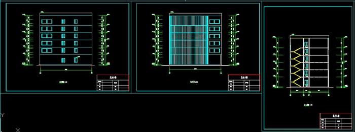 六层钢框架办公楼设计(含计算书建筑结构图)(6)