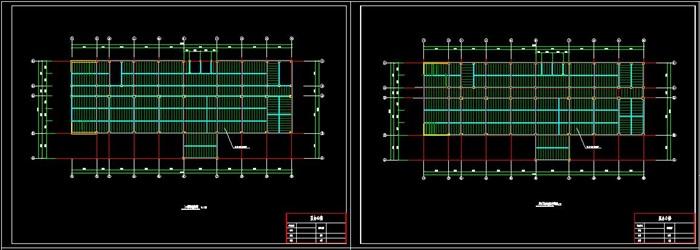 六层钢框架办公楼设计(含计算书建筑结构图)(11)