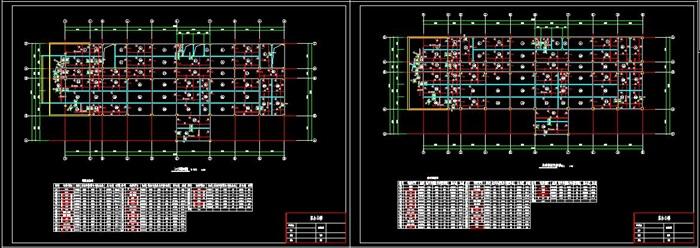 六层钢框架办公楼设计(含计算书建筑结构图)(12)