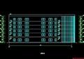 六层钢框架办公楼设计(含计算书、建筑结构图)