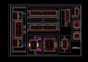 某古庙电气设计cad方案