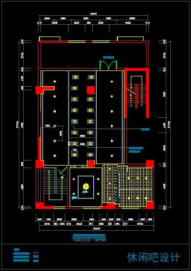 二层休闲吧方案设计图-约270平[原创]