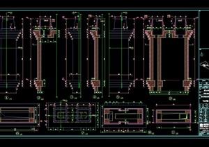 某别墅区石材装饰CAD详图