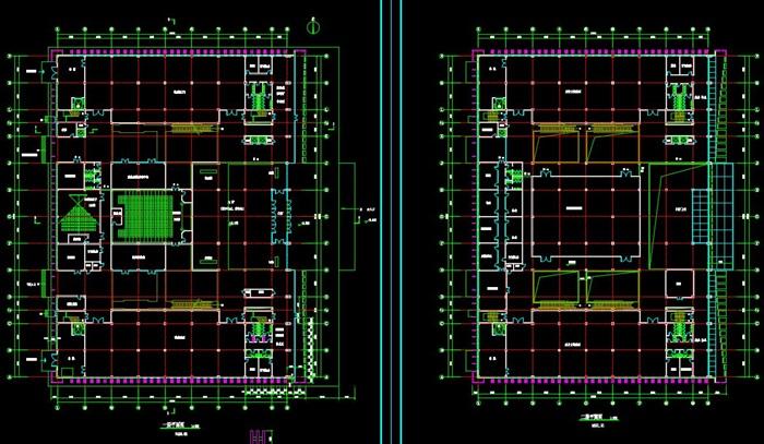 博物馆展览馆文化中心建筑方案设计(含CAD平立剖效果图)(5)