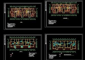 钢筋混凝土结构住宅楼cad施工图