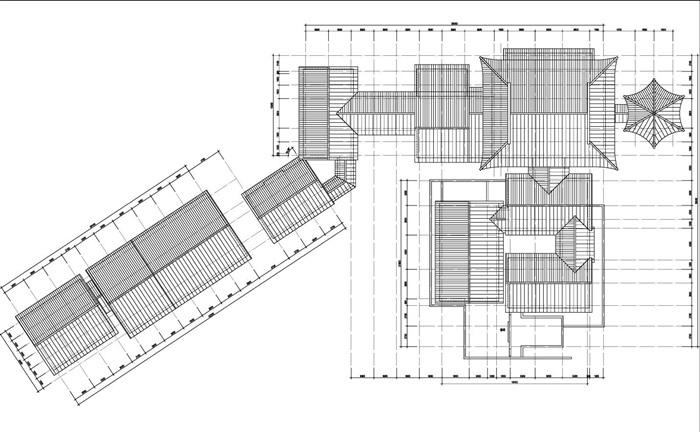 川西民俗文化商业街区建筑设计jpg方案[原创]