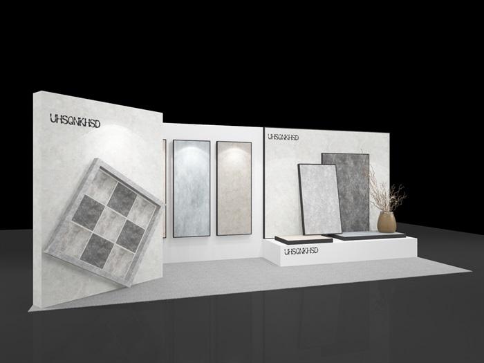 石材大理石展览展示展台3D模型