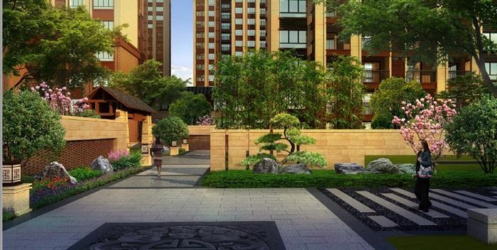 某现代住宅小区景观设计pdf方案高清文本[原创]