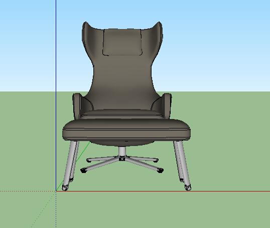 现代沙发椅及坐凳设计su模型[原创]