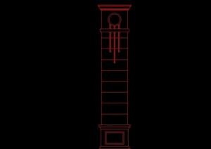 建筑柱子设计CAD常用图块