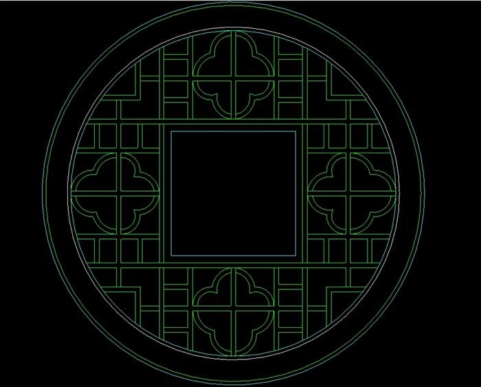 177种窗的cad样式及天花[原创]cad层图做法图片