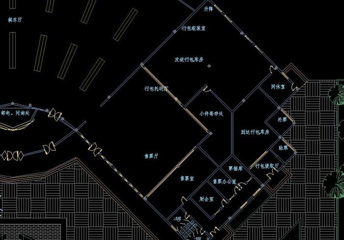 长途客运站建筑设计方案图纸[原创]