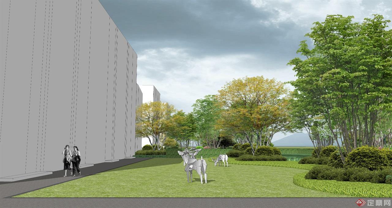 某疗养院-hf景观设计图片
