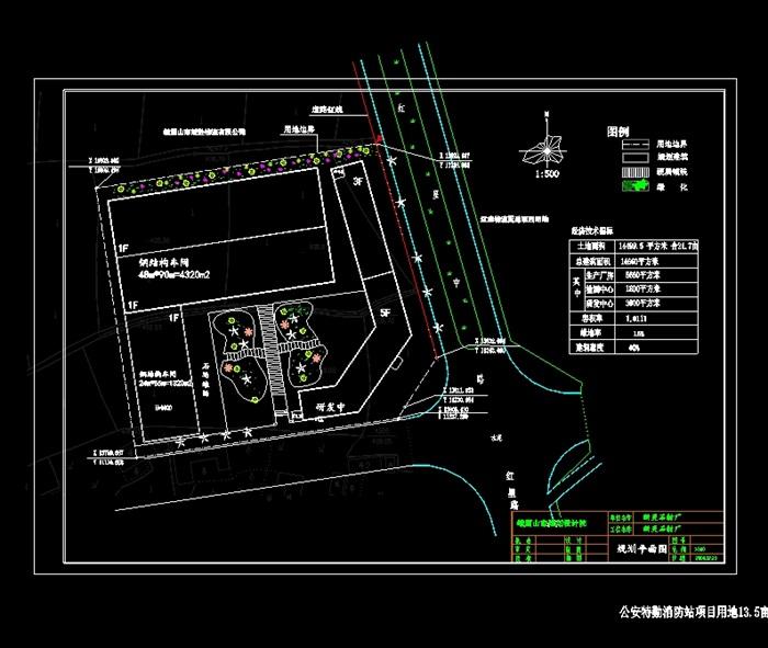 某石材厂规划设计cad方案[原创]如何修改cad线型比例的中因子图片