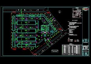 长春某公司总平面图CAD图