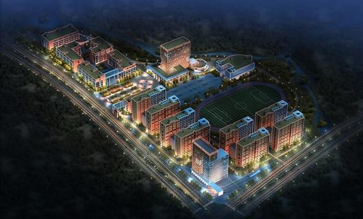 商务职业学院修建性详细规划