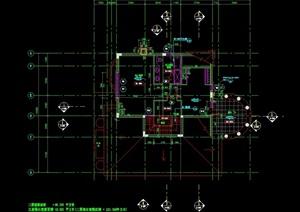 某别墅住宅设计cad平面图