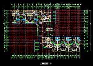 住宅楼建筑设计平面图