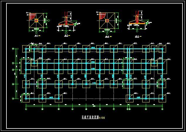 某学校五层框架结构图书馆设计(含开题报告任务书计算书及建筑结构ca