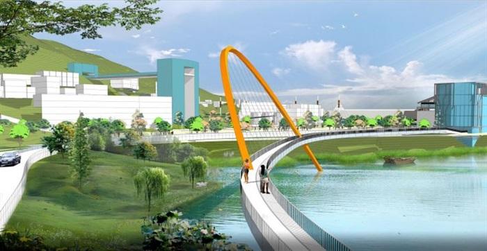 现代海湾公园景观规划设计方案su设计模型[原创]