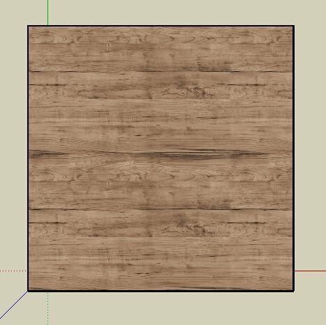 某现代详细木质桌子su模型[原创]
