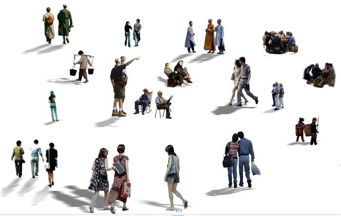 人物人物素材机器人机器人雕塑雕塑小品人物模型 资料附件目录: 人物