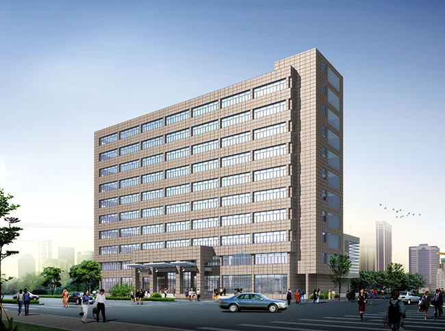 十层某局行政办公楼建筑设计cad施工图[原创]
