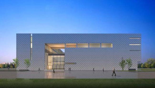 办公楼建筑设计cad平立剖及效果图[原创]设计秘密的图片