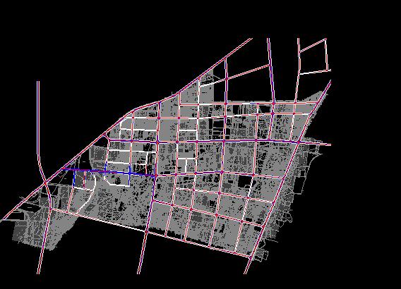 多个住宅小区平面规划设计图[原创]