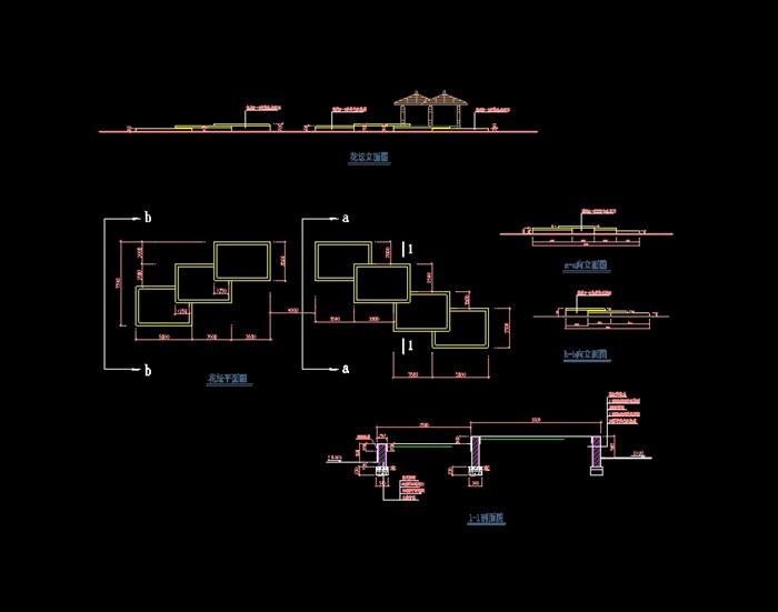 欧式花坛设计cad方案[原创]
