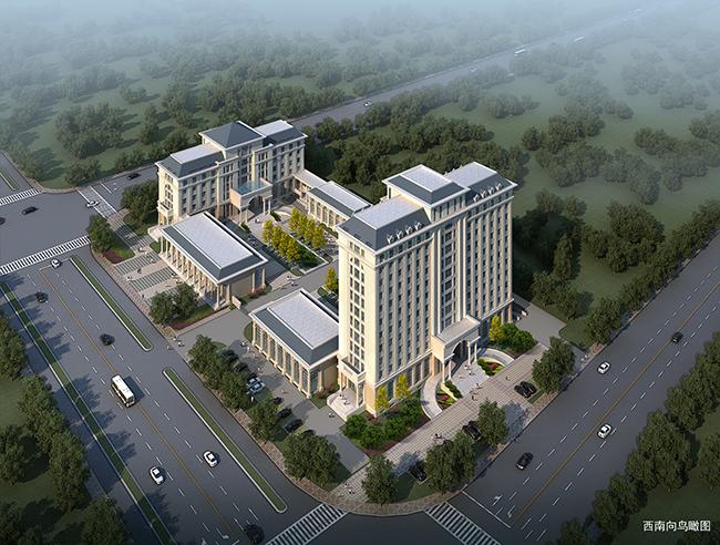 公路局综合业务行政办公楼建筑方案设计(1)