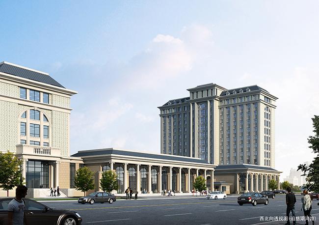 公路局综合业务行政办公楼建筑方案设计(2)