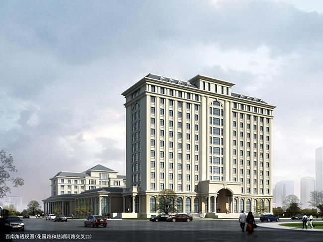 公路局综合业务行政办公楼建筑方案设计(3)