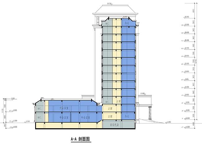 公路局综合业务行政办公楼建筑方案设计(5)