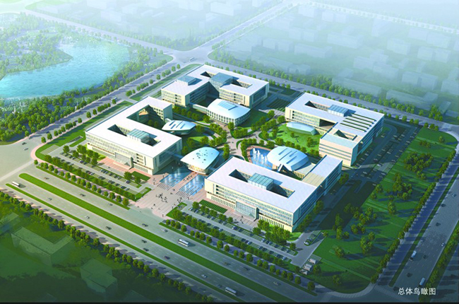 某银行总部多层后台中心行政办公楼宿舍建筑方案设计(1)