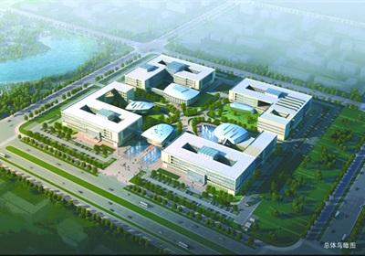 某银行总部多层后台中心行政办公楼宿舍建筑cad方案设计