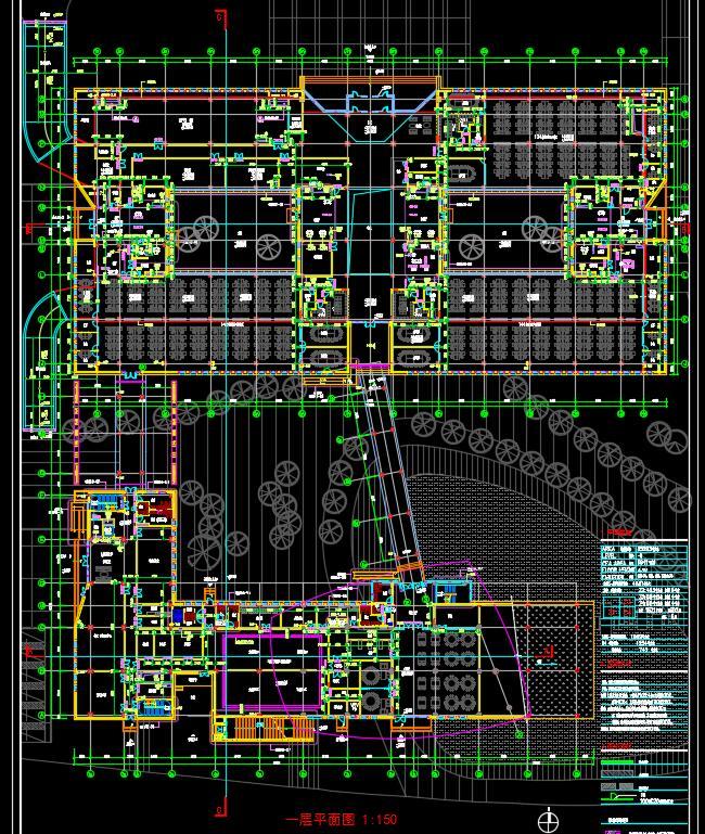 某银行总部多层后台中心行政办公楼宿舍建筑方案设计(3)